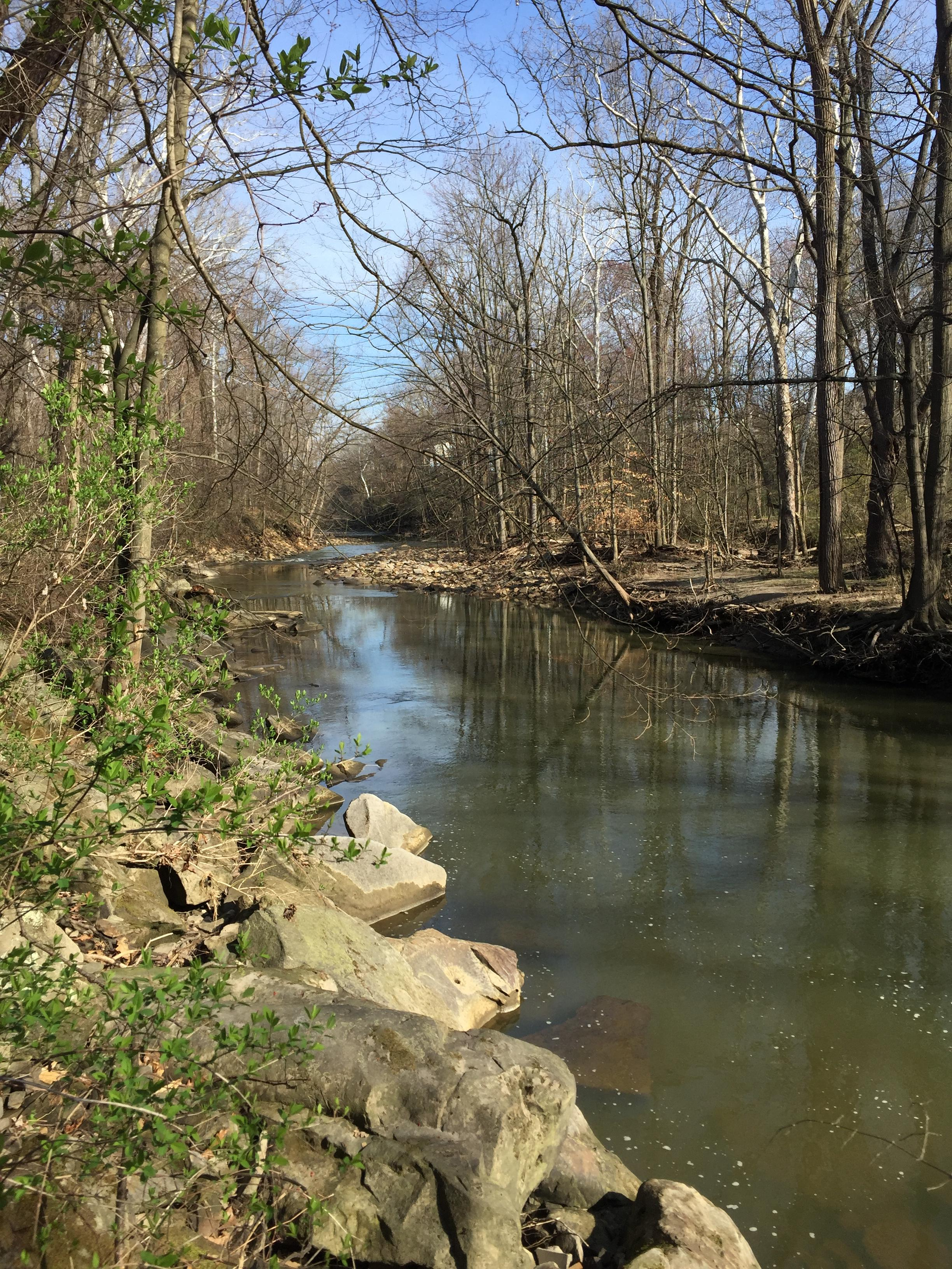 A walk along the Rocky River in Berea, OH